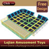 Ce Colorful Indoor Combined Large Trampoline for Amusement Park (TP1505-9)