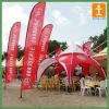 Custom Outdoor Advertising Flying Feather Flag with Pole (TJ-022)