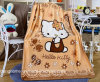 Hot Sale Well Baby Shower Infant Blanket Printing Customized (MG-TZ003)