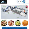 Stainless Steel Bubble High Pressure Spraying Roller Brush Fruit Washer