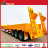 Multi-Used 50ton 3 Axle Lowboy Flatbed Side Wall Semi Trailer