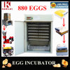 CE Approved Cheap Automatic Chicken Egg Incubator for 800 Eggs