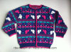 Kids Sweater Intarsia Effect for Girls