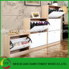 Morden Design in Home Wooden Shoe Cabinet /Shoe Rack in Wood/Shoe Shelf for Sale