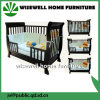 3 in 1 Wooden Baby Crib with Drawers