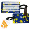 New Item Factory Price Fashionable PVC Luggage Tag