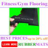 Rubber Gym Flooring Crossfit Border and Ramps Edges