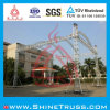 Aluminum Stage Quick Arc Truss for Performance, Stage Decoration, Stage Lighting Speaker Truss Project