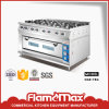 8-Burner Gas Range with Gas Oven (HGR-78G)