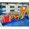 Giant Interactive Military Boot Inflatable Obstacle Course Rental