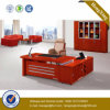 Mahogany Color Office Furniture Melamine Wood Office Desk (NS-NW145)