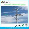 300W Wind Turbine Solar Hybrid LED Street Light System