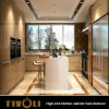 Modern High Gloss Lacquer Kitchen Cabinet with Island for Individual House