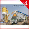 High Quality Production Capacity Belt Type Stationary Concrete Plant 60m3