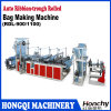 Automatic Ribbon Through Rolling Bag Making Machine