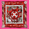 Digital Print Custom Fashion Silk Scarf (F13-0036)