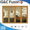 Double Tempered Glass Aluminium Bi Folding Door Made in China