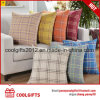High Quality Square Multi-Color Grid Sofa Decorative Cotton Throw Pillow
