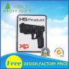 Customized PVC Emblem with Gun Design