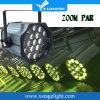 High Power LED 19PCS PAR Can Zoom Light