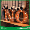 High Quality Indoor/Outdoor Large Light up Marquee Bulb Letters
