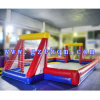 Funny Outdoor Inflatable Sports Games PVC Inflatable Football Soccer Field