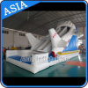 Giant Inflatable Aircraft Slide Games for Kids