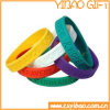 High Quality Debossed Silicone Wristband with Custom Logo (YB-w-017)