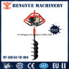 Manual Ground Digger Ground Drill Gasoline Engine with Snail/Horizontal Gearbox