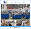 PE / PVC WPC Profile Extrusion Line, Wood Plastic Making Machine