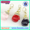 Fashion Enamel Boxing Glove Accent Charm Wholesale