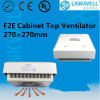 Industrial Cabinet Ventilation Top Exhuast Fan (F2E225-230-DP)