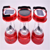 Plastic 4 LED Solar Lantern for Camping and Mining (OEM)