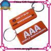 Plastic Keychain for Rubber Keyring Gift