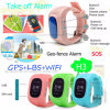 Ce Approved Kids GPS Tracking Watch with Remote Monitoring H3