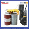 Handling 4 Drums Lifters for Forklift Attachments