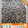 Glass Mosaic Supplier, Flash Point Glass Mosaic and Stainless Steel Mosaic (M815056)