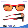 Soflying Orange Colorful Square PC Injection Outdoor Sports Sunglasses