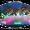 Cold Fog Fountain with Colorful Lighting