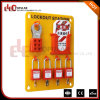 Elecpopular Brand High Quality Portable Yellow Organic Glass Security Lockout Stations