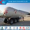 Parkistan Trailer Mounted Tanks Q345r Trailer Tanker Propane LPG 56cbm LPG Trailer Transporters