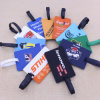 2015 Custom Different Logo Rubber Luggage Tags