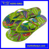 2016 Attractive Printing Design PE Slipper for Lady