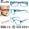 Italian Design Women Acetate Optical Frame Eyeglass with Ce Certificate