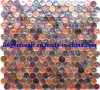 Round Luster Glass Mosaic/Iridescent Glass Mosaic (8MLY544)