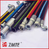 SAE J517 2sc Flexible Hydraulic Braid Hose in Tuff Situation