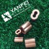 New Style Brass Metal Oval Sleeve and 8 Shape Ferrule