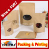 Kraft Paper Bag with Window and Zip Lock (220094)