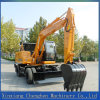 15ton Hydraulic Wheel Excavator Parts with 0.6m³ Bucket Capacity