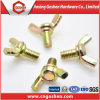 Carbon Steel Yellow Zinc-Plated Wing Butterfly Bolt